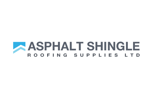 Asphalt shingle roofing logo 2