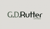 GD Rutter logo canvas