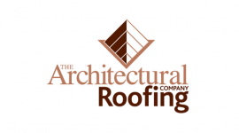 Architectural roofing logo