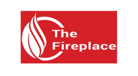 The Fireplace logo canvas