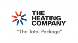 The heating Company logo