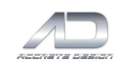 accrete design large logo
