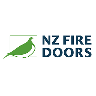 nz fire doors logo for circle