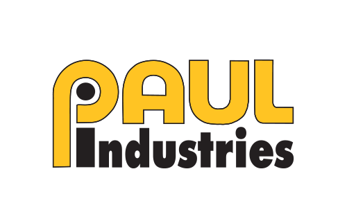 paul industries logo white small