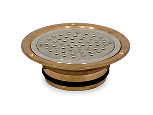 Cast Bronze Vinyl Security Drain