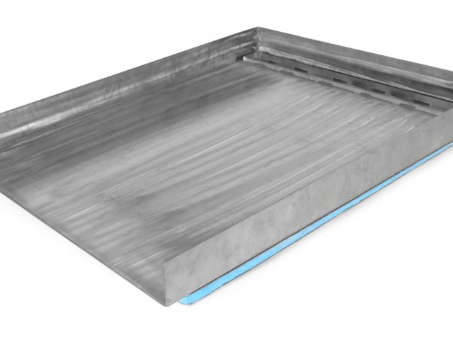 Tile-Over Stainless Shower Tray