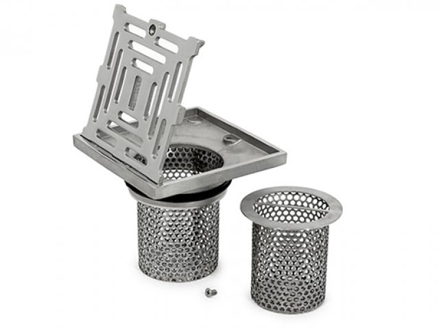 Storm Series Double Strainer Basket
