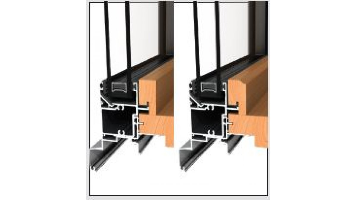Timber profiles available square edge and profiled