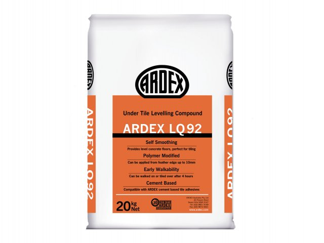 ARDEX LQ 92 - Undertile Levelling Compound