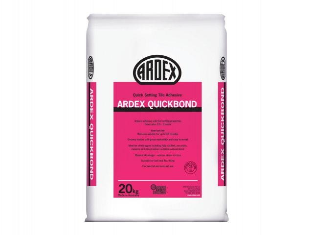 ARDEX Quickbond - Rapid-Setting Tile Adhesive