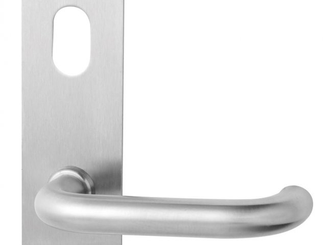 Lockwood Lever & Push/Pull Furniture: Artefact Range 224 Series Rectangular Plate