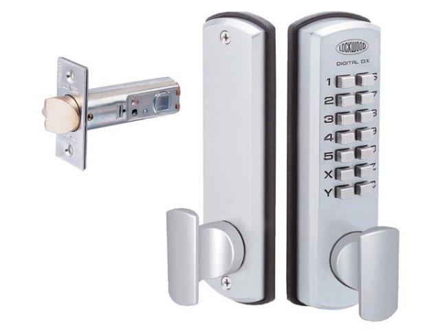 Lockwood Mechanical Digital Lock: 530 DX Digital Lock