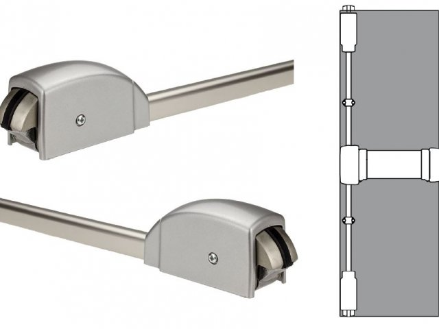 Lockwood Door Closers: Panic Exit Device — FLUID Series