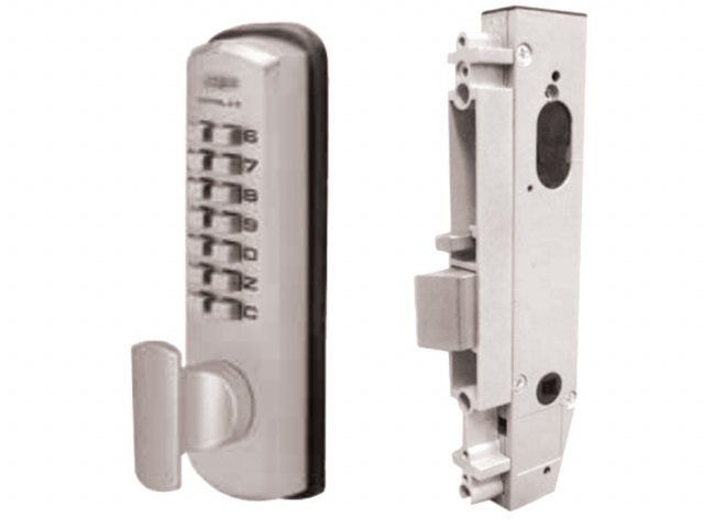Lockwood Mechanical Digital Door Lock: 3782 DX Digital Locks