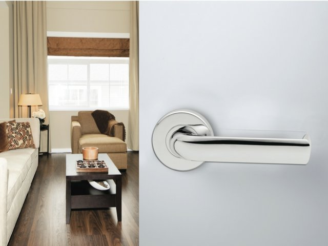 Lockwood Lever & Push/Pull Furniture: Velocity Door Furniture