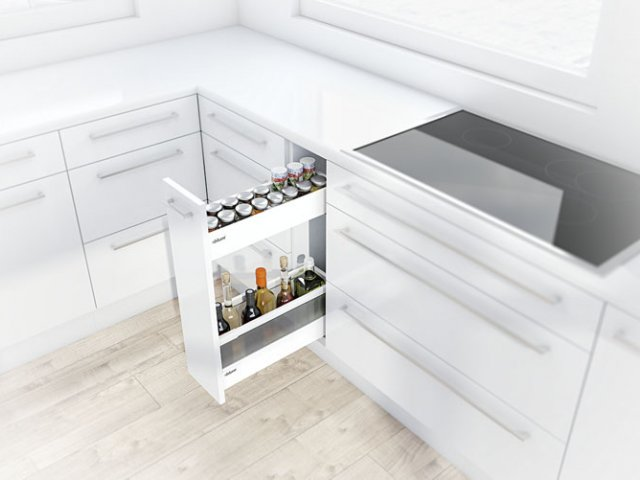 Narrow Cabinet with TANDEMBOX