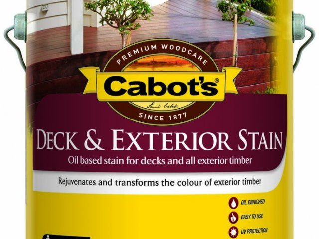 Cabot's Deck & Exterior Stain Oil Based