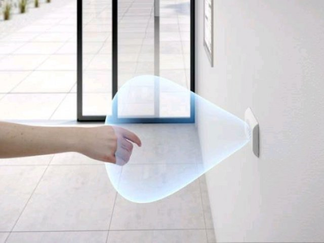 Touchless Magic Switch for Automatic Doors