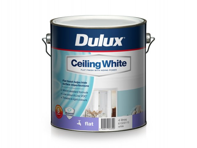 Dulux Ceiling White Flat