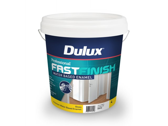 Dulux Professional Fast Finish Water Based Enamel Gloss