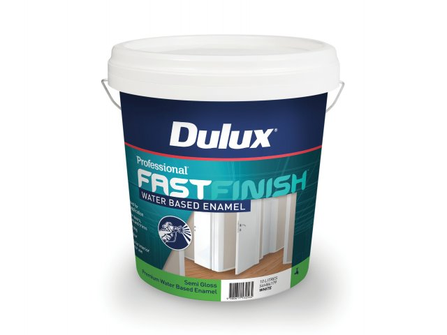 Dulux Professional Fast Finish Water Based Enamel Semi Gloss