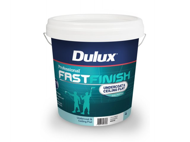 Dulux Professional Fast Finish Undercoat & Ceiling Flat