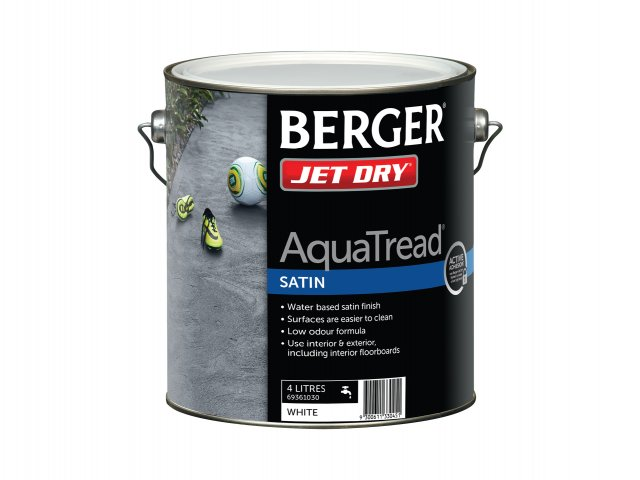 Berger Jet Dry AquaTred Satin