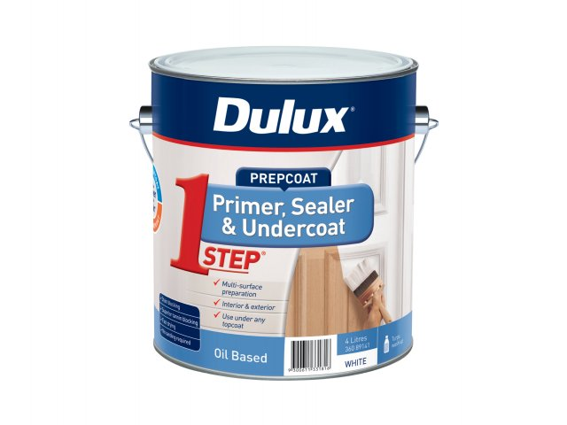 Dulux 1 Step Oil Based Primer Sealer Undercoat