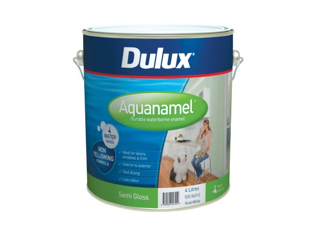 Dulux Aquanamel Semi Gloss