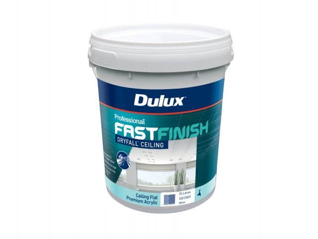 Dulux Professional Fast Finish Dry Fall Ceiling White Flat