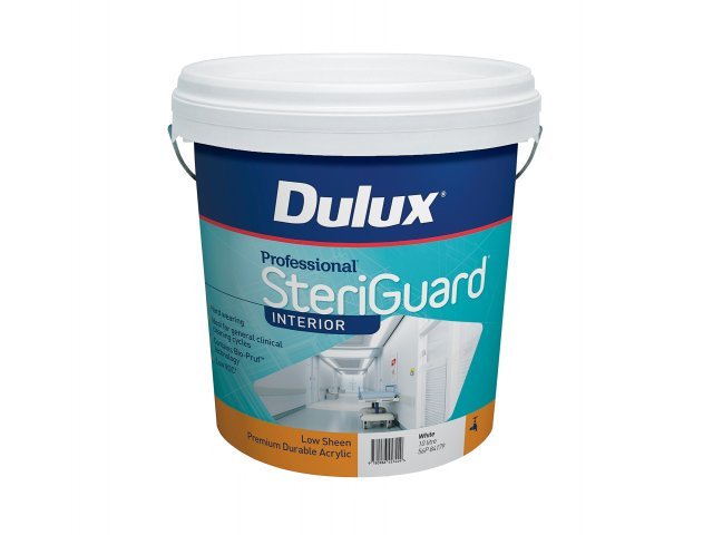 Dulux Professional SteriGuard Durable Acrylic Low Sheen
