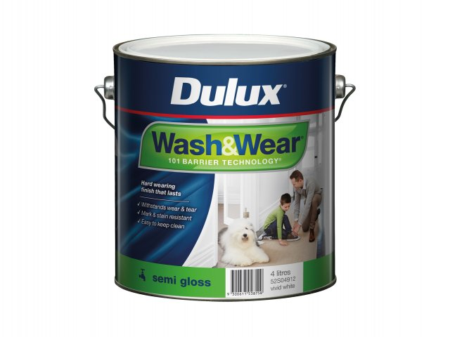 Dulux Wash&Wear Semi Gloss