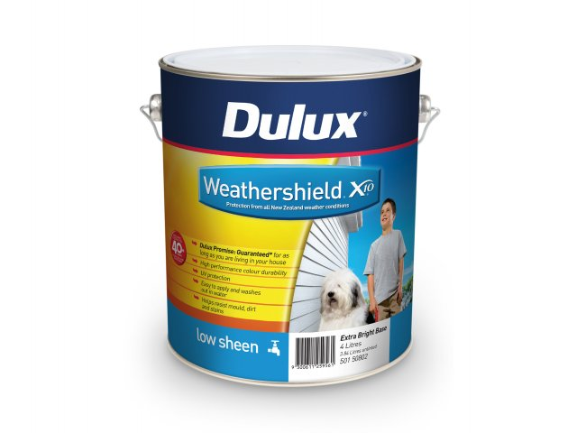 Dulux Weathershield X10 Low Sheen