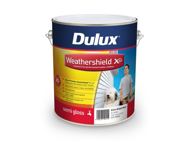 Dulux Weathershield X10 Semi Gloss