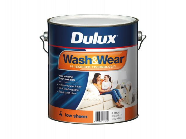 Dulux Wash&Wear Low Sheen