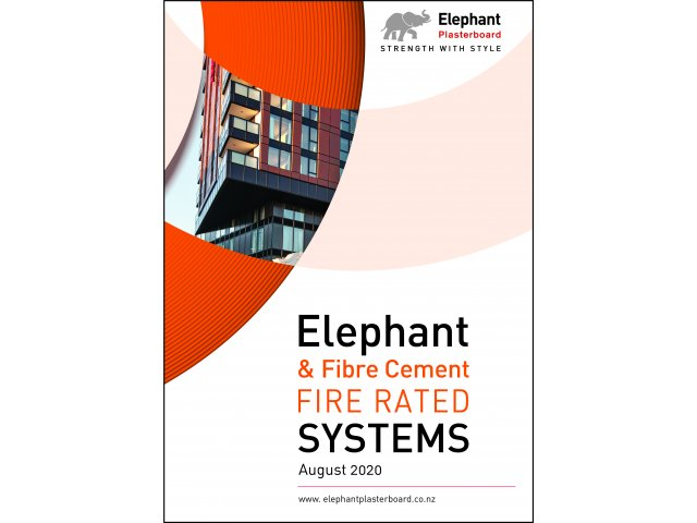 Elephant & Fibre Cement Fire Rated Systems
