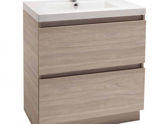 "Valencia ""Timber-Look"" Vanity 750mm"