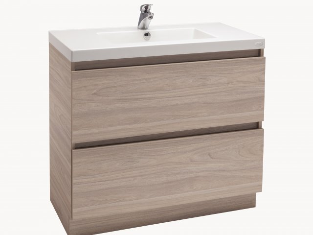 "Valencia ""Timber-Look"" Vanity 900mm"