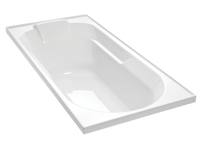 Sorrento II Rectangular Bath 1670 x 760mm
