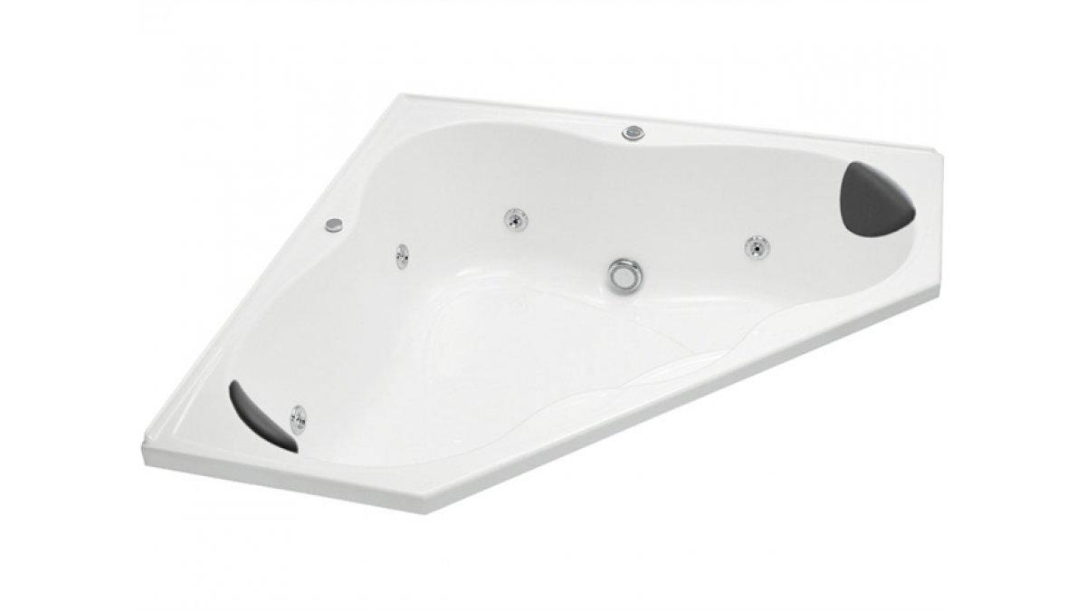 Sorrento II Corner Spa Bath 1300 x 1300mm by Englefield – EBOSS