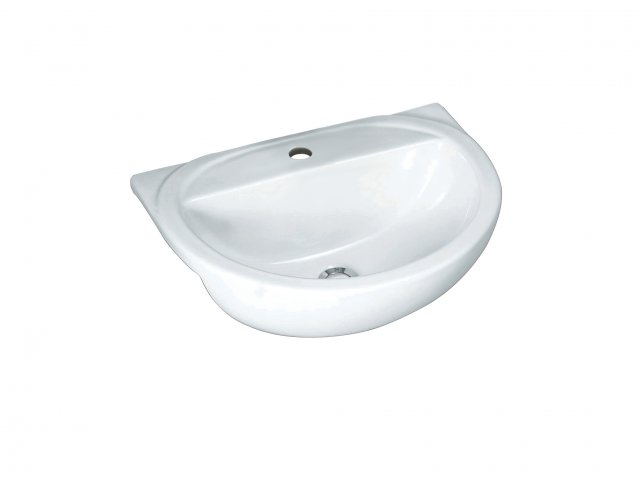 Milano Basin Semi-Recessed Round