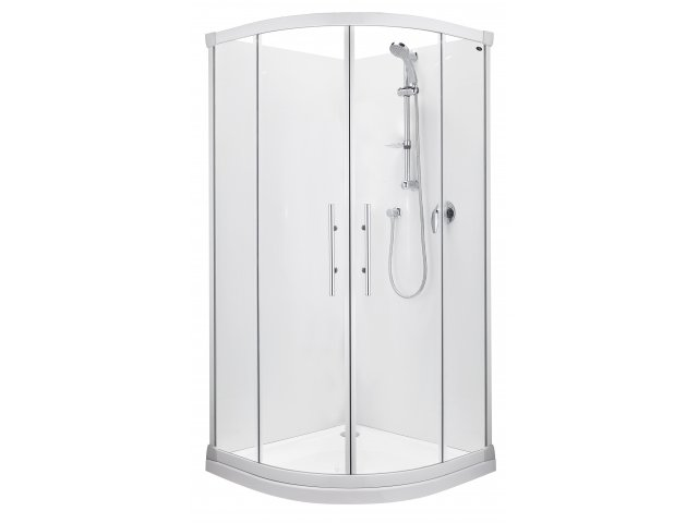 Valencia Round Sliding Shower
