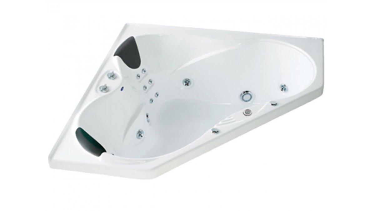 Evora Hydrotherapy Massage Corner Spa Bath by Englefield – EBOSS