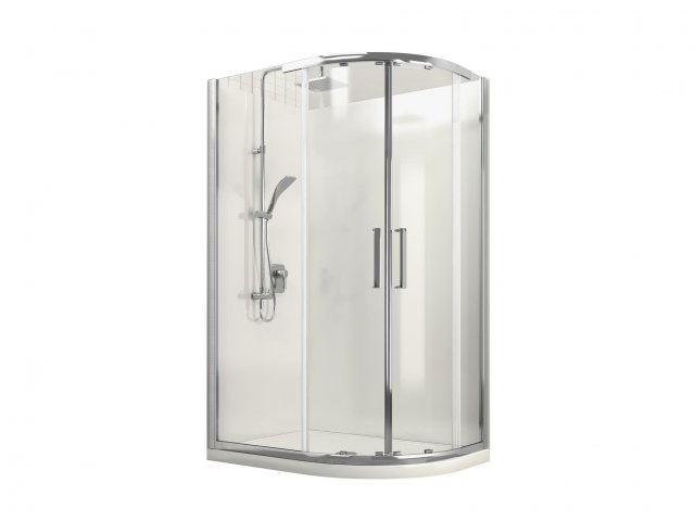 Milano Round Sliding Shower