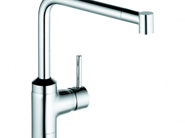L-ine Sink Mixer with Pullout Handspray