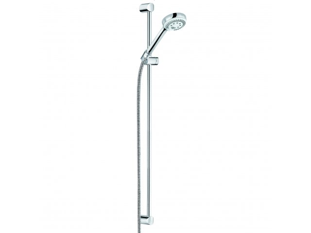 Logo 3 Setting Shower Set Chrome
