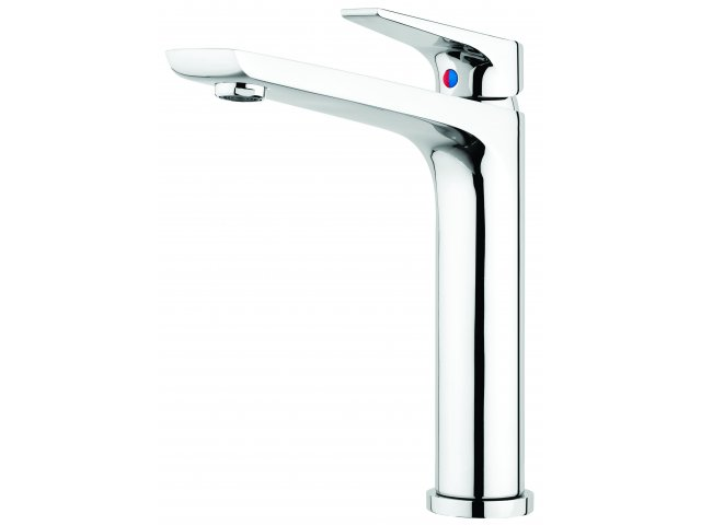Solitaire Sink Mixer Chrome