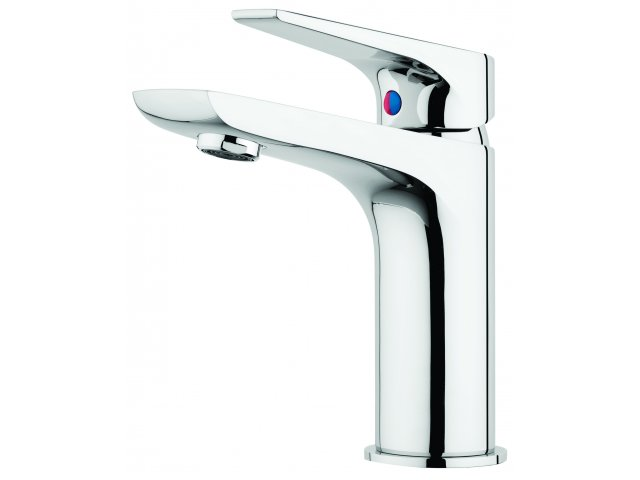 Solitaire Basin Mixer Chrome