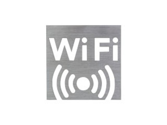 Stainless Steel Sign -WIFI