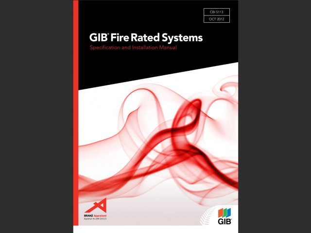 GIB Fire Rated Systems